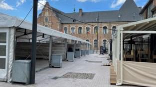Vrijthof is helemaal klaar voor Breese terrasjeszomer