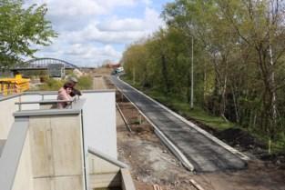 Drie nieuwe panorama's op fietspaden naar gloednieuwe fietsbrug over Zuid-Willemsvaart