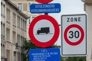 Vrachtwagens verboden in aantal Merksemse woonstraten