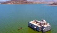Mexico zucht onder aanhoudende droogte: verzonken kerk duikt weer op