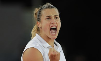 Sabalenka treft Barty in finale WTA Madrid