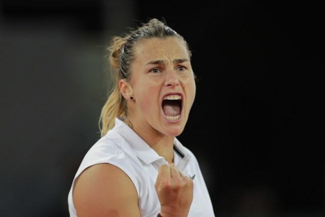 Sabalenka treft Barty in finale WTA Madrid