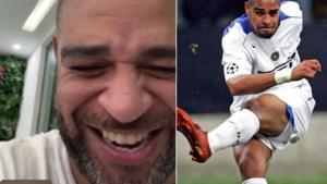 """Dolblije Romelu Lukaku krijgt na titel met Inter telefoon van de man die hij """"altijd wilde zijn"""""""