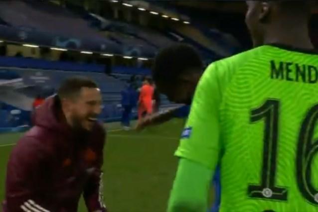 Dit valt niet goed in Madrid: Eden Hazard dolt vlak na uitschakeling met Chelsea-spelers en wordt neergesabeld in Spanje
