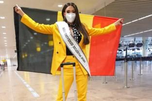 Dhenia Covens afgereisd naar verkiezing Miss Universe in Florida