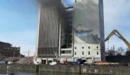 Opnieuw brand in gebouwen Hanekop
