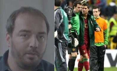 """Stijn Stijnen doet ware verhaal uit de doeken over provocatie aan Cristiano Ronaldo: """"Door Teletekst ging de bal aan het rollen"""""""