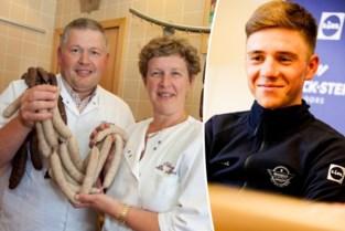 Telefoon van slager Johan De Munck staat roodgloeiend na mopje van zijn beroemdste klant Remco Evenepoel