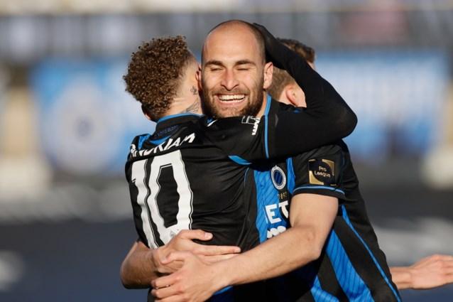 Club Brugge haalt opgelucht adem met puntje tegen Anderlecht na knotsgek slot, voorsprong blijft acht punten