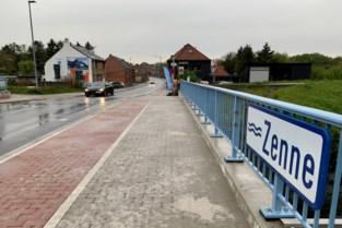 Gerenoveerde Zennebrug opnieuw open voor verkeer