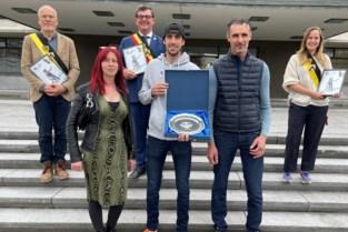 Wereldkampioen Jetski Quinten gehuldigd in Oostendse stadhuis