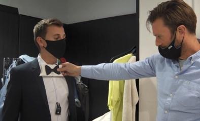 Sven helpt Lennart uit de nood en zoekt mee naar een kostuum voor de finale van 'De mol'