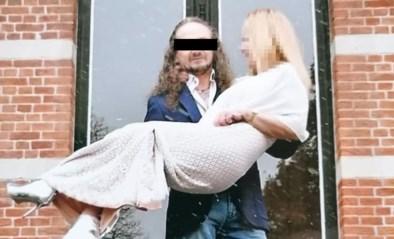Nog niet eens berecht voor doodslag op vriendin of Danny S. (50) ranselt zijn kersverse echtgenote af tijdens voorwaardelijke vrijlating