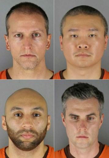 Vier ex-agenten aangeklaagd voor schenden rechten George Floyd