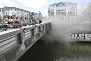 Verkeersinfarct in Brussel door brand in technische koker net onder het Saincteletteplein