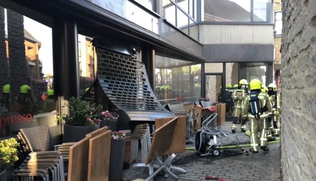 Keukenbrand vertraagt heropening koffiehuis