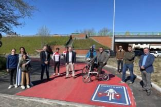 Nieuw stuk fietspad langs fietssnelweg F39 moet fietstraject veiliger maken