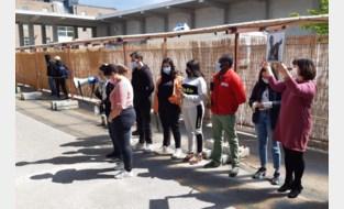 Vrijwilligers Vriendschap zonder Grenzen herdenken dood Syrische vluchteling