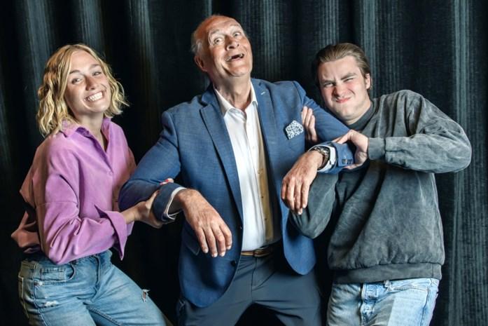 """Jacques Vermeire viert zijn 70ste verjaardag met kinderen Julie en Maxime: """"Ik probeer actief te blijven. Het is dat, of gewoon rijk zijn"""""""