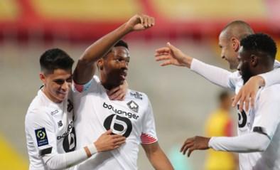 Lille zet met ruime zege in derby tegen Lens belangrijke stap richting titel, ex-Buffalo scoort derde treffer
