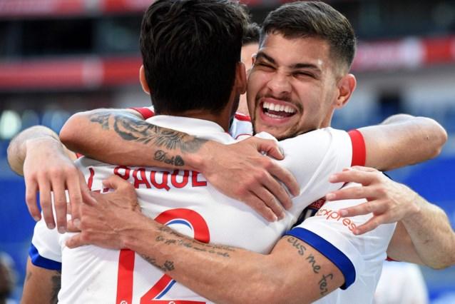 Olympique Lyon wervelt zonder geblesseerde Denayer over Lorient