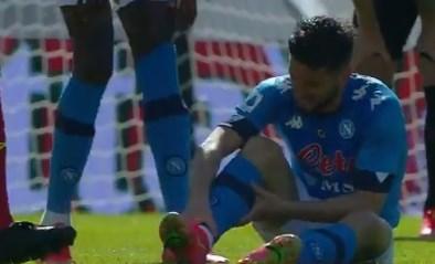 Kopzorgen voor bondscoach Roberto Martinez? Dries Mertens valt bij Napoli geblesseerd uit