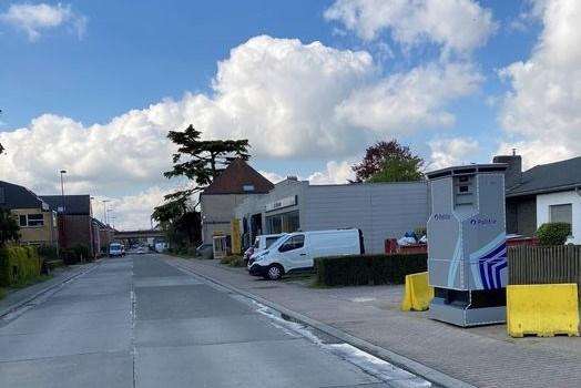 Superflitspaal verhuist van Machelen (Zulte) naar Landegem (Deinze)