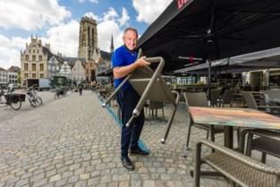 Mechelse horeca mag al zeker tot in voorjaar 2022 grotere terrassen zetten