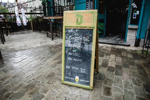 Pechvogel van het weekend: café Zeezicht gaat meteen weer dicht