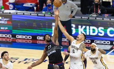 Philadelphia Sixers na zege bijna zeker dat ze eerste reekshoofd zijn in NBA, Lakers verliezen en moeten nog vol aan de bak