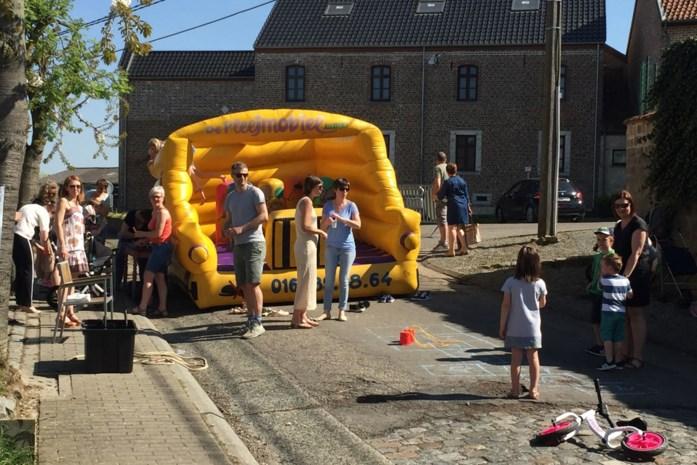Op zoek naar speelpleintje in Goetsenhoven