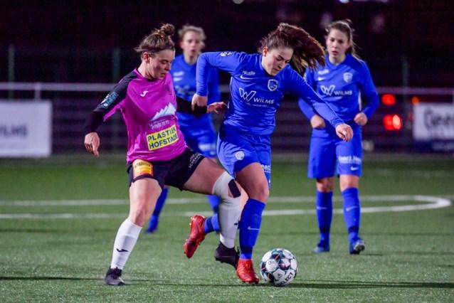 Genk Ladies en Eendracht Aalst spelen gelijk na thriller in Scooore Super League