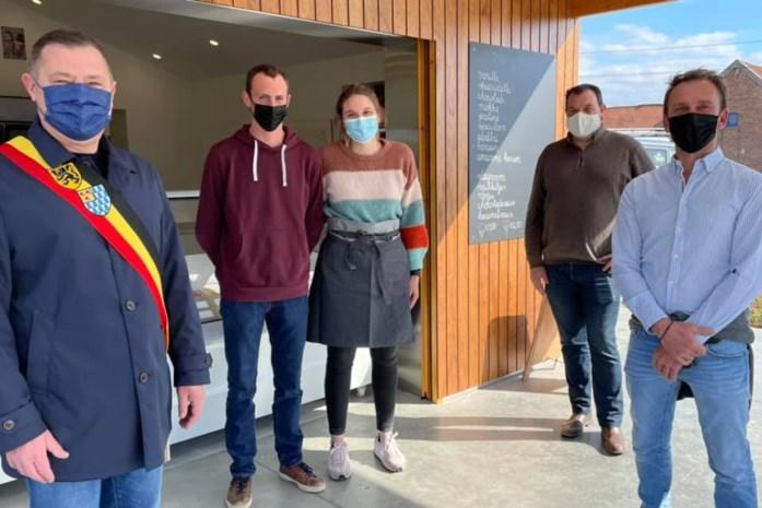 Nieuw ijssalon officieel geopend