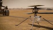 Geluid van Ingenuity-helikopter voor het eerst opgenomen op Mars