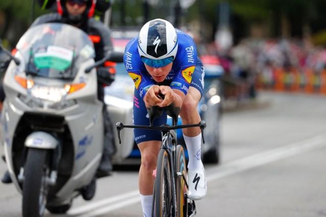 Zo deden favorieten het in eerste tijdrit Giro: meteen goede zaak voor Remco Evenepoel, nummer twee van vorig jaar krijgt al tikje