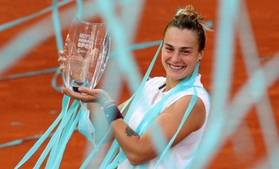 Aryna Sabalenka verslaat Ashleigh Barty in zinderende finale in Madrid