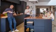 Liesbeth en Dirk renoveerden een rijhuis uit het interbellum en creëerden met een vide extra licht en ruimte