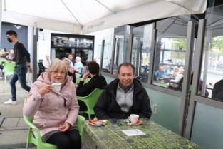 """Bedevaart naar terrassen van Scherpenheuvel Martine en Francis uit Kessel-Lo: """"Al ons derde terras vandaag"""""""