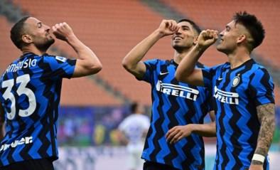 Inter luistert landstitel nog wat op en deelt Sampdoria pak slaag uit