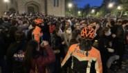 """Feestgedruis in de hoofdstad ontaardt opnieuw in kat-en-muisspel met de politie: """"Dit bewijst dat een avondklok, regels en sancties nodig zijn"""""""