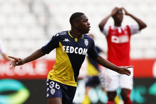 Monaco behoudt waterkansje op titel na krappe overwinning dankzij goal van jeugdproduct van Anderlecht