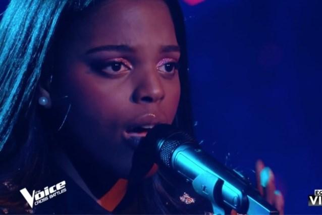 Verwachtingen ingelost: Mentissa (22) uit Denderleeuw plaatst zich voor finale van 'The Voice' in Frankrijk