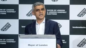 """Londense burgemeester Khan herkozen: """"De absolute eer van mijn leven"""""""