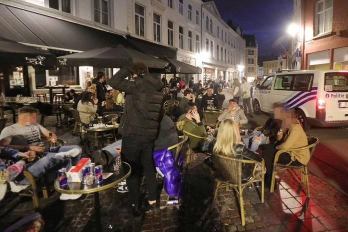 """Knokpartijen ontsieren heropening horeca in Brugge: """"Vooral jongeren moesten we op de vingers tikken"""""""