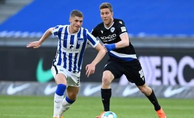 Hertha Berlijn met invaller Dedryck Boyata en Bielefeld komen niet tot scoren in kelderkraker