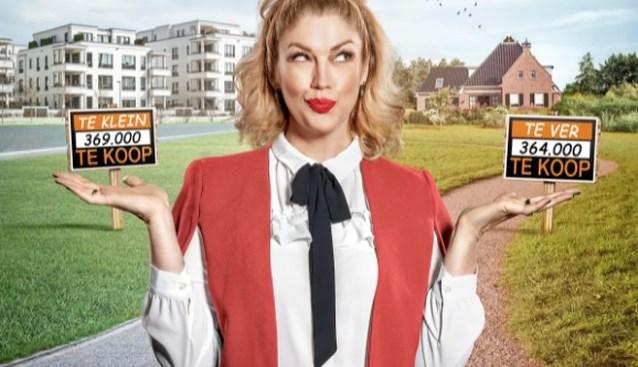 Kelly Pfaff schuimt immomarkt af voor televisie:
