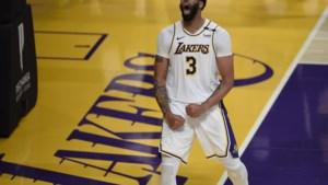 LA Lakers winnen nog eens in de NBA dankzij beresterke Anthony Davis