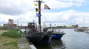Gerestaureerd bebakeningsschip uit 1952 wordt woonboot