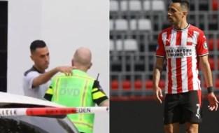 PSV-spits Zahavi krijgt op teambus telefoon van vrouw, die tijdens overval mishandeld wordt voor ogen van kinderen