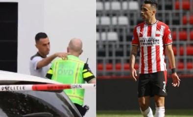 PSV-spits Eran Zahavi krijgt op teambus telefoon van vrouw, die tijdens overval mishandeld wordt voor ogen van kinderen